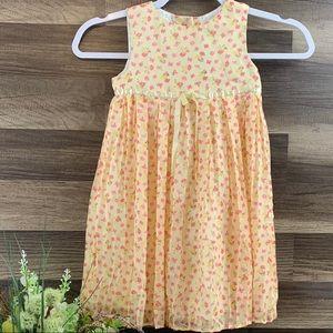 🛍4/$20 Laura Ashley Girls Lined Dress 3T